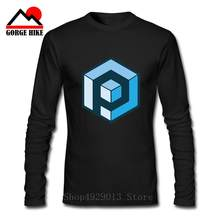 2019 Summer New Men Einstein T-Shirts The Big Bang Theory Printed Stylish Design Rubik Primordial Cube T Shirts Casual 100% Cotton Long Sleeve Tees(China)