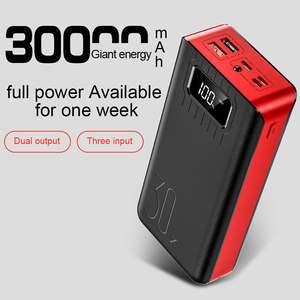 CASEIER 30000mAh Power Bank Bi