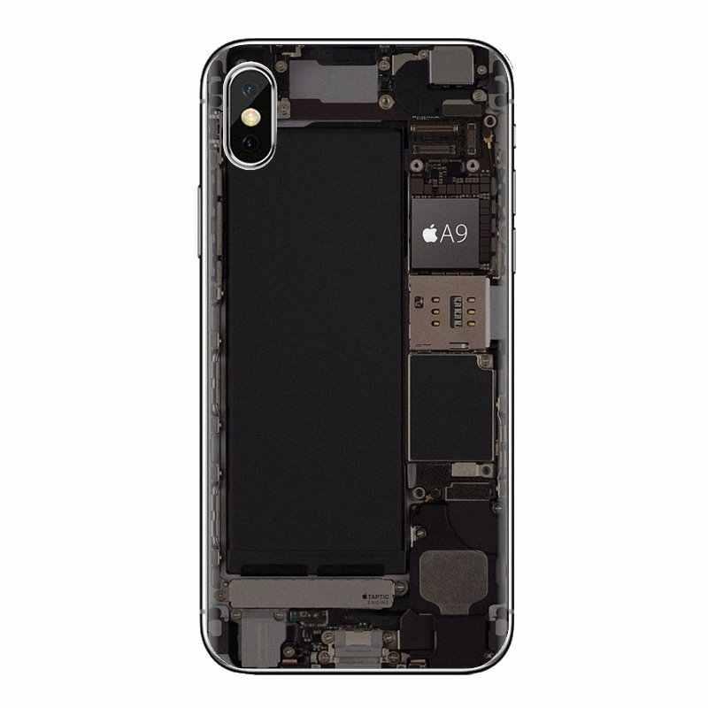 Saco de silicone Caso Computador Motherboard placa de Circuito Para Huawei Honor 5A LYO-L21 Y6 II Compact Y5 2 Y5II Companheiro 10 lite Nova 9i 2i