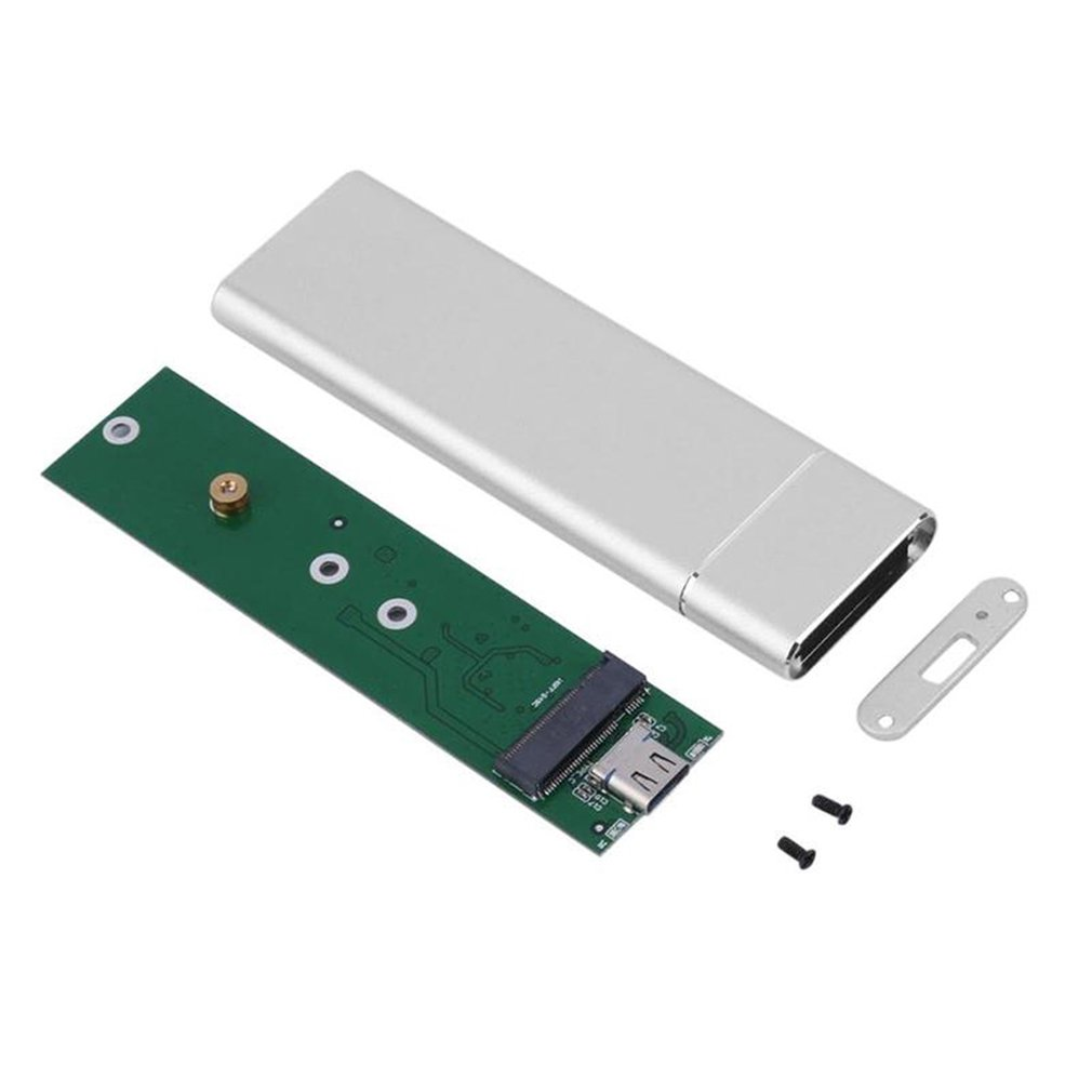 USB3.1 Type-C To M.2 M Key NVMe PCIE SSD Box Solid State Drive Housing Case 10Gbps M2 SSD 2280 Hard Drive Disk Enclosure