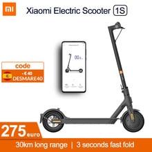 Xiaomi – trottinette électrique Mi 1S MIJIA e-scooter intelligente, planche à roulettes, Mini moteur adulte, Hoverboard pliable, mise à niveau 30km, M365