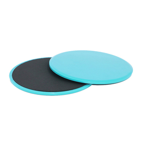 Fitness Plate Exercise Sliding Gliding Discs Yoga Fitness Abdominal Trainers Slider Board Gym