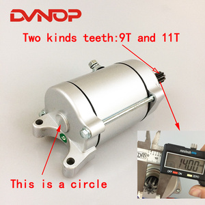 Motorcycle Engine Electric Starter Motor For Zongshen Lifan Loncin CG200 CG250 CG 200 250 Air-Cooled Engine Spare Parts(China)