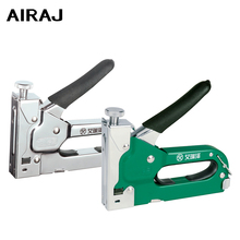 3-way Heavy Duty Hand Nail Gun Stapler Furniture Staples With 1000pcs Nails Include By Free Woodworking Tacker Staples