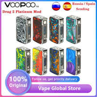 Offre spéciale VOOPOO glisser 2 platine 177W TC boîte MOD puissance par 18650 batterie Vape vaporisateur Voopoo Mod vs Gen Mod/Swag 2/glisser 157W