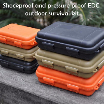 Waterproof Tool Boxes For Storage Travel Sealed Container Portable  Case Holder Box Outdoor Shockproof