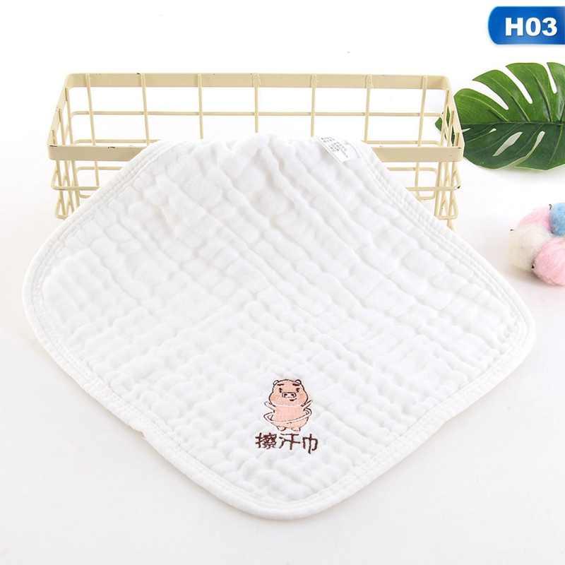 Bebê lavado gaze toalha quadrada toalha de saliva gaze alta densidade toalha de lavagem seersucker plissado pequena toalha de leite para crianças