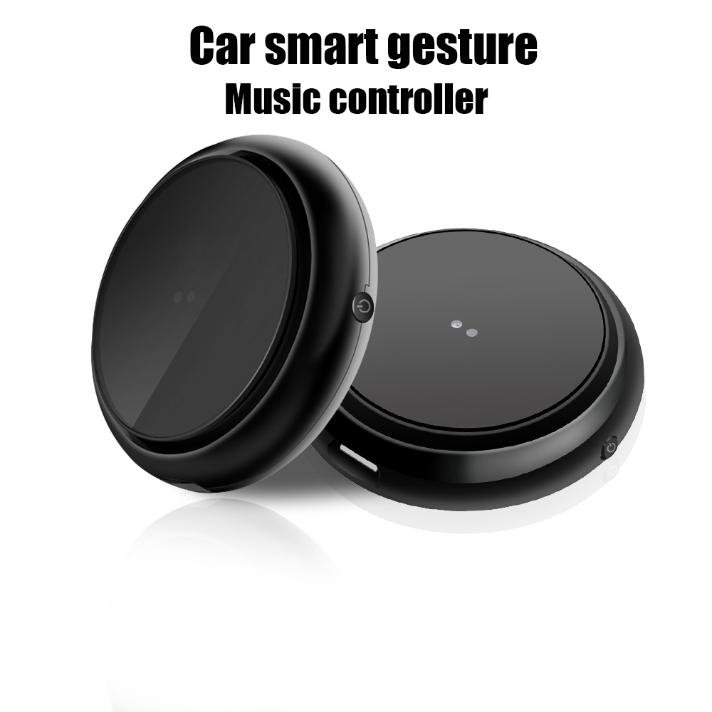 Hangrui Car Smart Gesture Music Controller Portable Mini Buletooth Wireless Remote Control Multimedia Phone For Android IOS