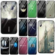 Tempered Glass Phone Cases for iPhone 5 5S SE 6 6S 7 8 Plus X XR XS 11 Pro Max Coque Inspirational Motivational Quotes New Style(China)