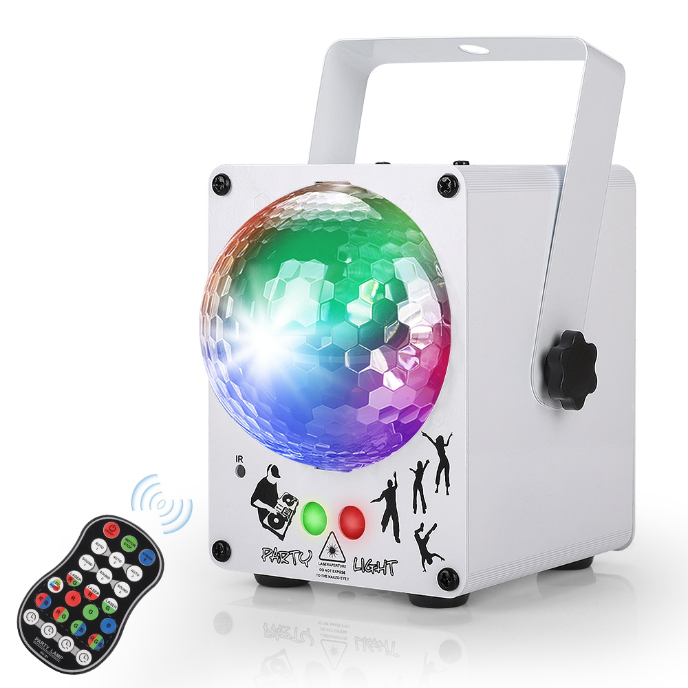 LED Disco Laser Light RGB Projector Party Lights 60 Patterns DJ Magic Ball Laser Party Holiday Christmas Stage Lighting Effect 3
