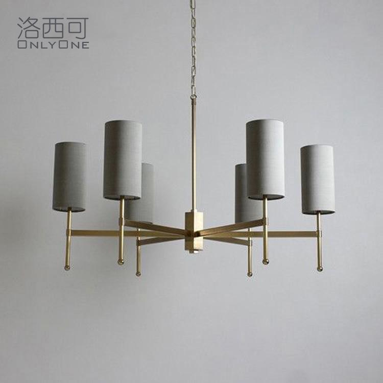 minimalista sala de estar jantar quarto arte cinza lampadas cobre cheio 05