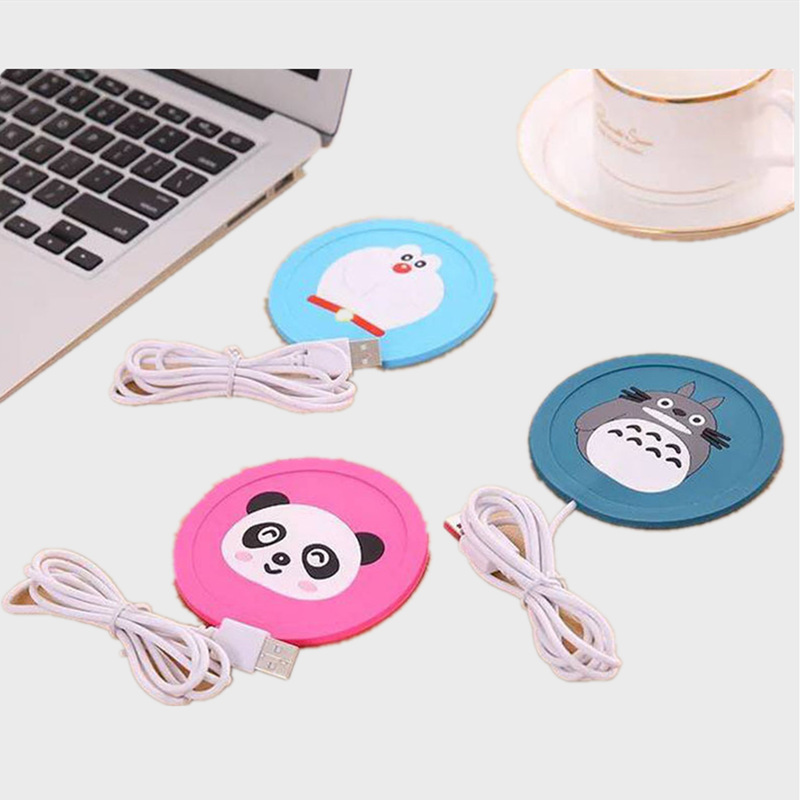 HOT 5V USB Cute Silicone Heat Warmer Heater Milk Tea Coffee Mug Hot Drinks Beverage Cup Best Gift
