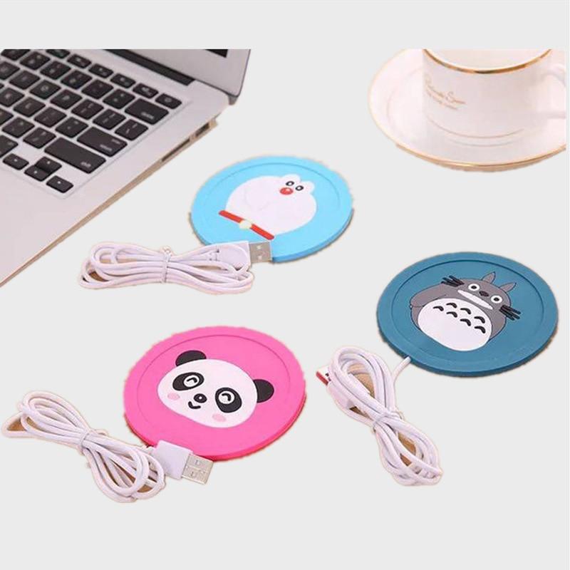 HOT 5V USB Cute Silicone Heat Warmer Heater Milk Tea Coffee Mug Hot Drinks Beverage Cup Best Gift