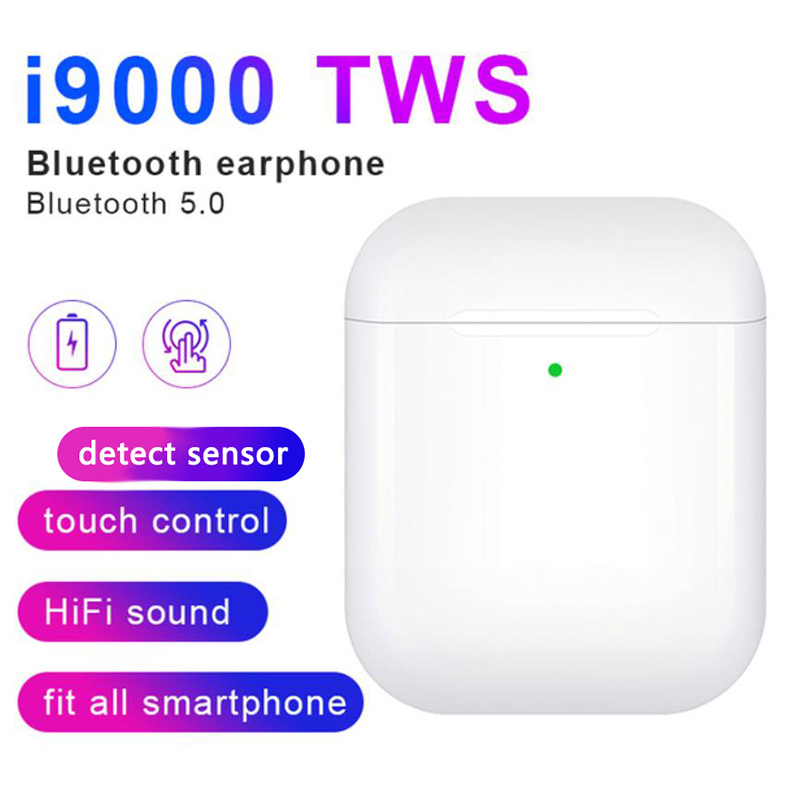 I19000 Tws Black And White Wireless Headset Bluetooth Headset Earphone Headset For The Original Iphone And Android Phone Aliexpress