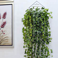 Party-Decoration Garland Artificial Vine Wall-Hanging Ivy-Leaves Green Long Ivy Leaf