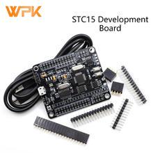 1 pçs stc8a8k64s4a12 placa de desenvolvimento 51 placa sistema mcu placa de desenvolvimento stc15 atualizar placa de aprendizagem concorrência