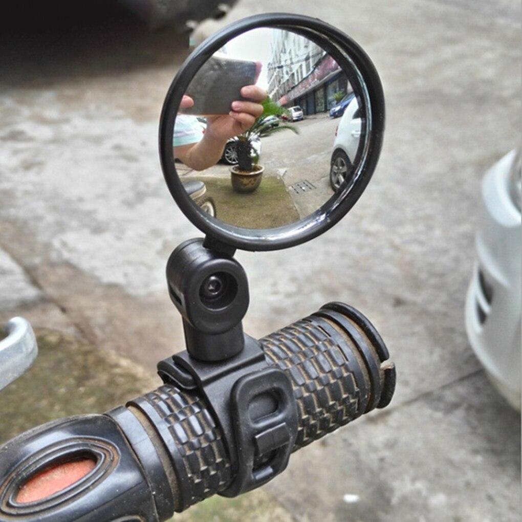 Mini 360 Grad Einstellbar Fahrrad Rückspiegel Fahrrad Lenker Flexible Sicher Rearview Rückansicht Spiegel Drehen Radfahren