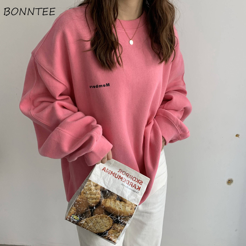 Hoodies Women Sweatshirt Plus Size Thickening New-coming Harajuku Winter Clothes Kpop Students Sweet Pullover Womens Hoodie Soft