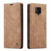 Lüks deri Flip Case için xiaomi mi 9 9t 11 10T lite 5G kırmızı mi 30s K20 k30 F2 pro not 8 9 s 10 pro max Etui cüzdan telefon kapak
