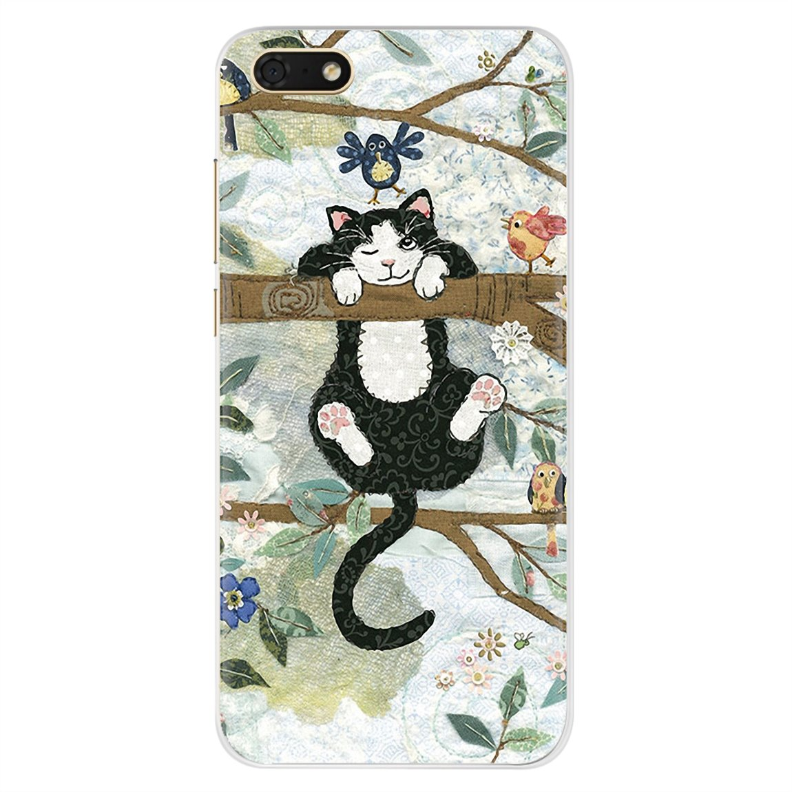 Cats And The Library Tree For Motorola Moto G G2 G3 X4 E4 E5 G5 G5S G6 Z Z2 Z3 C Play Plus Personalized Silicone Phone Case