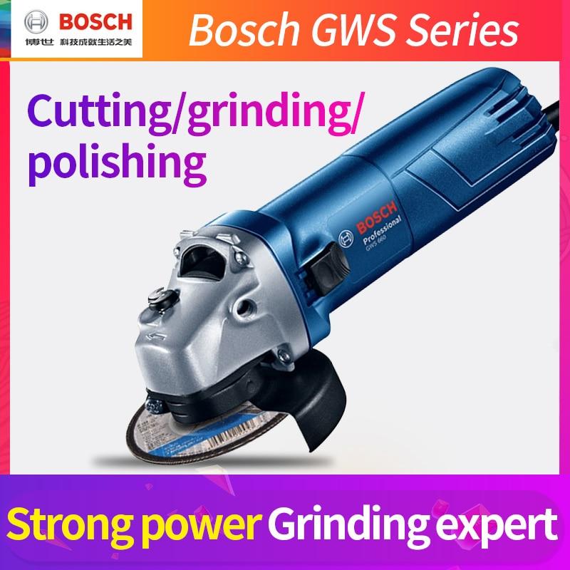 Bosch GWS Serie Winkel Grinder Metall Schneiden Polieren Maschine Upgrade Neue Metall Polieren Maschine