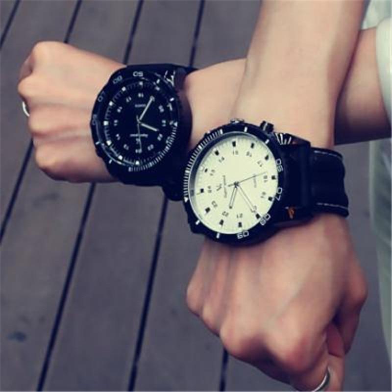 V6 Super Speed Watch For Men Women Big Dial Neutral Watches Clock Erkek Kol Saati Relogio Masculino Couple Watch Christmas Gifts