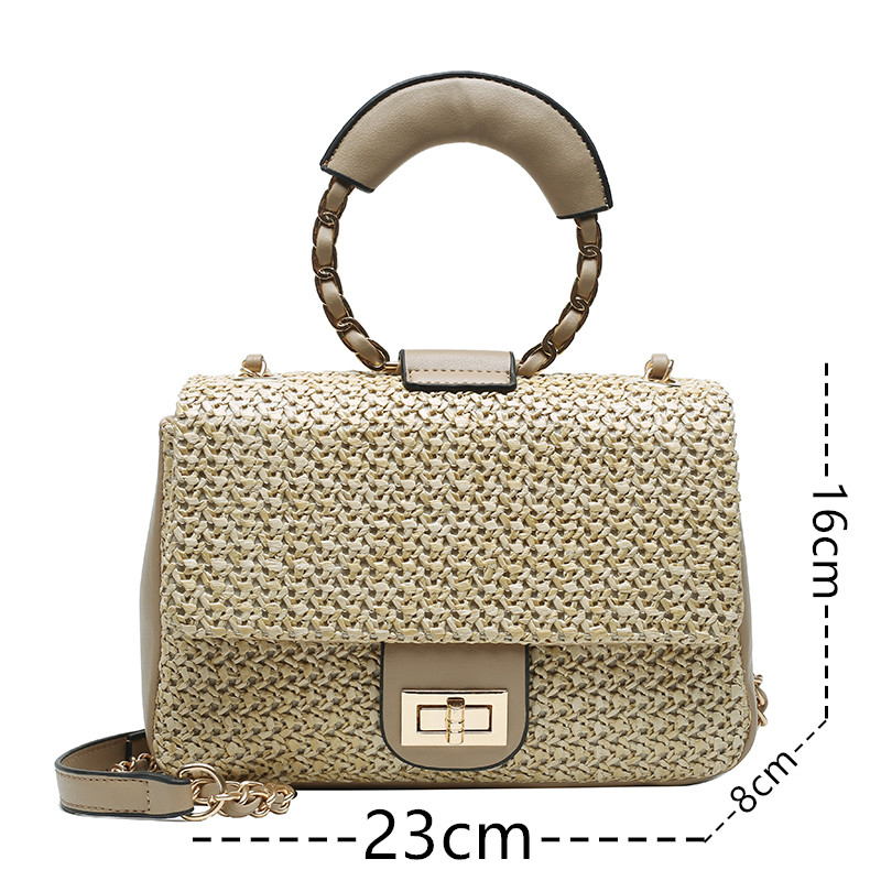 Bolsa Fashion Straw