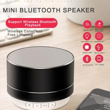 Mini Bluetooth Speaker Rechargeable Portable Wireless Speaker Music Audio TF Stereo Sound Speaker For Outdoors/Home desktop bluetooth speaker 30w sound speakerpower bank portable super bass wireless loudspeaker home audio system