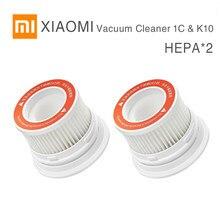 XIAOMI MIJIA-aspiradora de mano Original, 1C y K10, paquete de piezas, Kits de repuestos, cepillo de rodillo de filtro HEPA, cepillo suave de pelusa, mopa