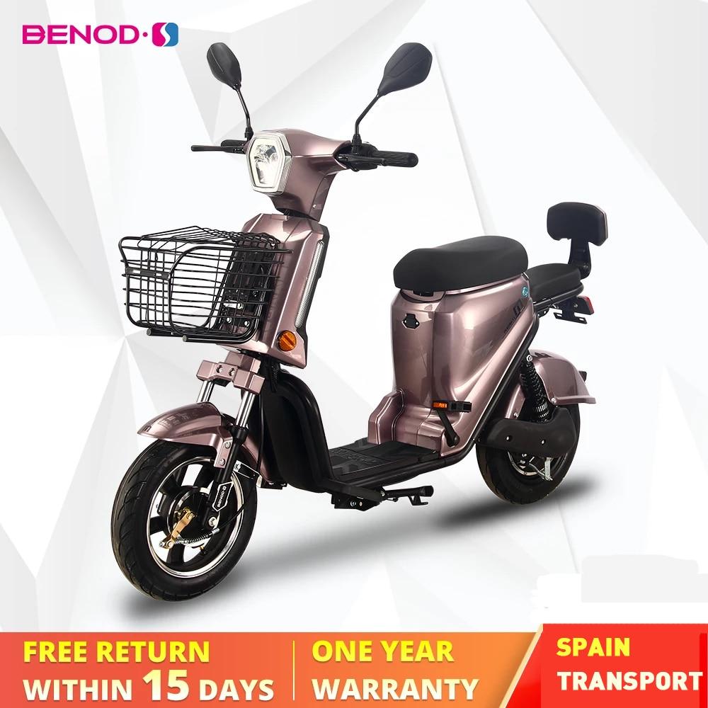 Электрические скутеры BENOD для взрослых, энергосберегающий электрический мотоцикл для взрослых, мопед, ЕС Транс
