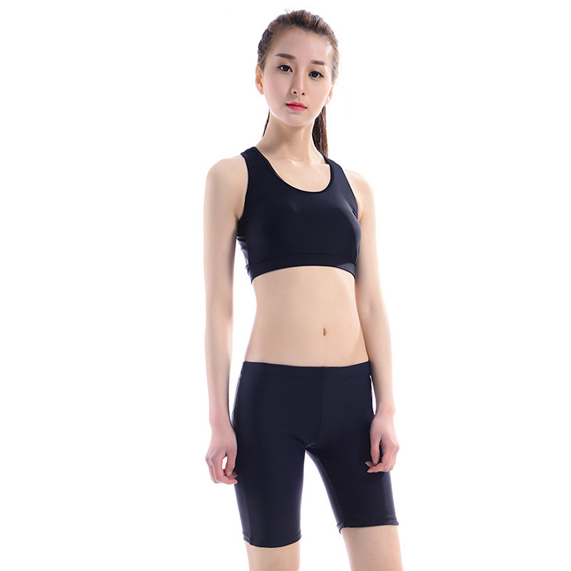 Large Size Split Type Shorts AussieBum Skirt-Shorts Swimming Bathing Suit Women's Alone Shock-resistant Sports Back