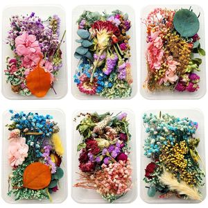 1Box Crystal Epoxy Filler Dry Flower Mixed Nail Stickers Decorations Resin Filling Material Jewelry Making Accessories