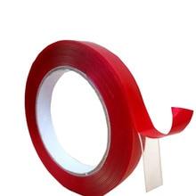 Новая прозрачная Двухсторонняя клейкая лента 5 м/рулон 5 мм 8 мм 10 мм 12 мм 15 мм 18/20 3 м для 3528 5050 ws2811, светодиодная лента