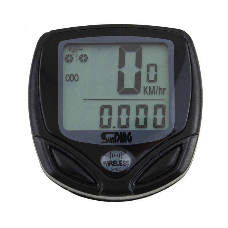SunDING Wireless bike computer speedometer waterproof speedometer cycle bicycle|Bicycle Computer| |  - title=