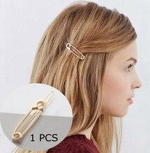Fashion Woman Hair Accessories Triangle Hair Clip Pin Geometric Lip Stars Knot Hairpins Ponytail  Pins Girls Hair Accessories