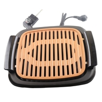 Smokeless Electric Grill Barbecue Non Stick Pan Grill Pan Fried Teppanyaki Mini Grill Oven EU Plug