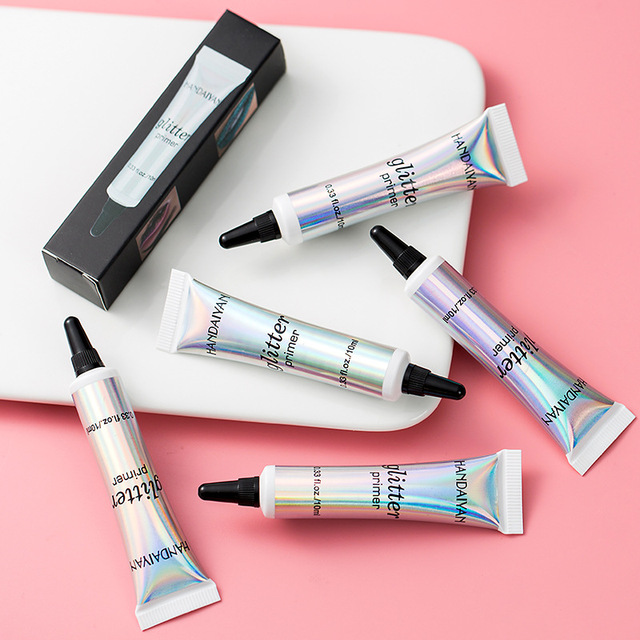 HANDAIYAN Glitter Eyeshadow Primer Sequins Fixed Eyeshadow Glue Long Lasting Eye Makeup Liquid For Eyeshadow And Lip TSLM2 4