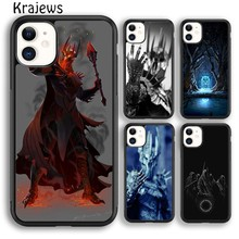 Krajews The Lord of the Rings Sauron Soft Phone Case Cover For iPhone 5s 6s 7 8 plus X XR XS 11 pro max Samsung Galaxy S8 S9 S10(China)