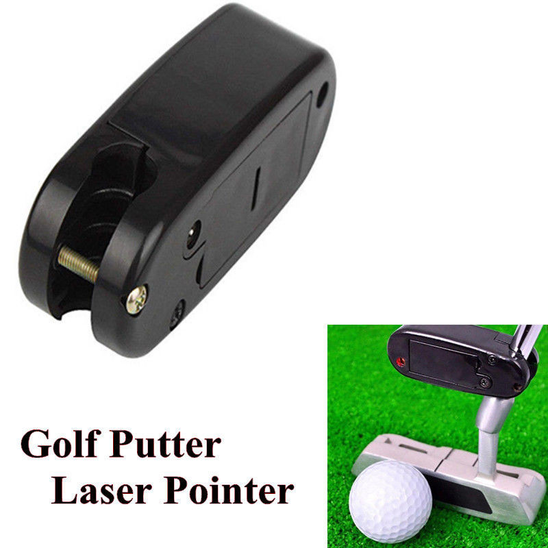 Golf Putter Laser Pointer Putting Line Corrector Improve Aid Tool Practice Trainers Improve Aid Tool Training  Improve Aid Tool