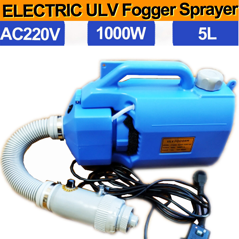 Ulv fogger 5L запасная дезинфицирующая противотуманная машина 110В/220В умная ультранизкая емкость ulv холодная фоггер с CE для продажи комаров