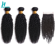 Peruvian Hair Bundles With Closure Kinky Curly Hair Bundles With Closure Non Remy Human Hair Bundles With Closure Double Weft термос biostal спорт цвет черный 0 5 л