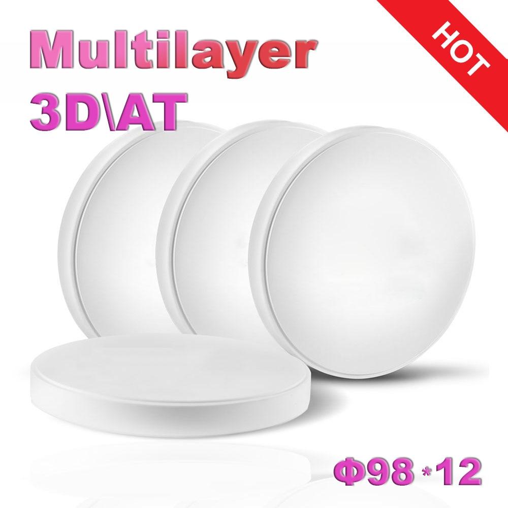 utml9816 ut ultra translucido mais multicamadas zirconia em branco ut
