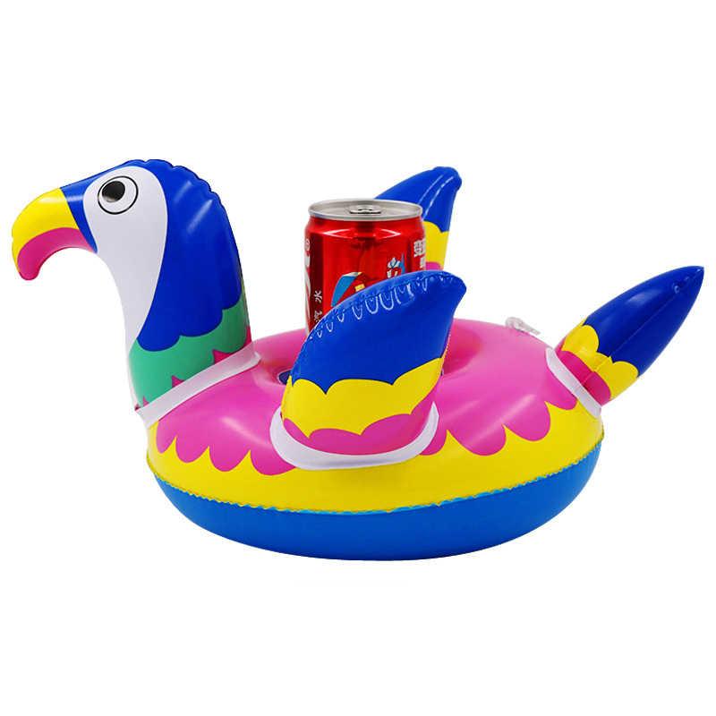 14 stile Mini Schwimm Tasse Halter Pool Schwimmen Float Wasser Spielzeug Party Getränke Boote Baby Pool Spielzeug Aufblasbare unicron Trinken halter