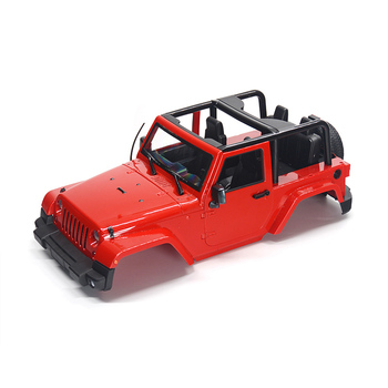 1/10 RC Remote Control Truck Hard Body Shell Canopy Rubicon Topless For SCX10/D90