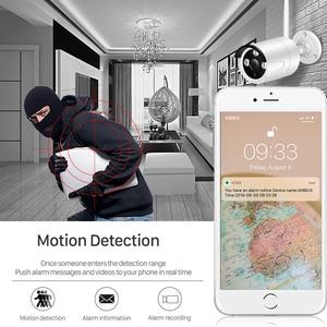 Image 2 - BESDER 1080P FHD 2.0MP Wireless IP Camera Outdoor TF Card Slot Video Security Camera IP Wifi Night Vision Onvif CCTV Camera P2P