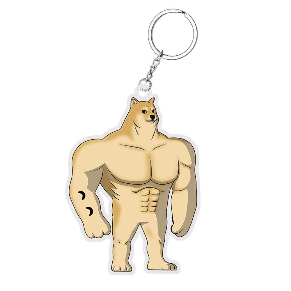 Брелок для ключей с собакой