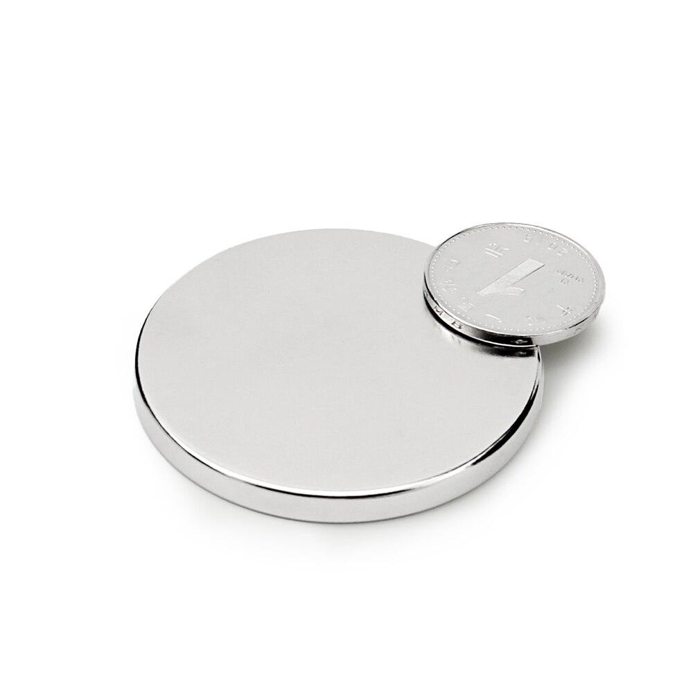 1pcs 50x5mm Super Powerful Strong Bulk Small Round NdFeB Neodymium Disc Magnets Dia 50mm x 5mm N35 Rare Earth NdFeB Magnet