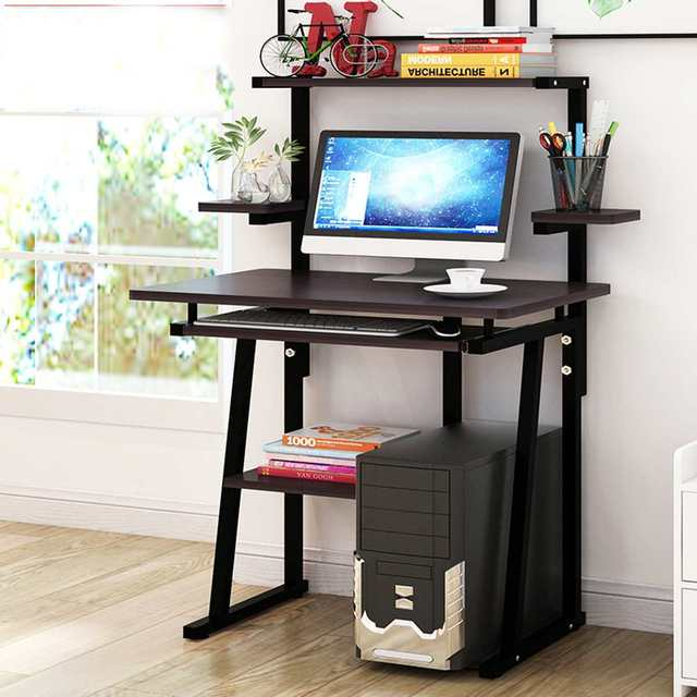 Wooden Computer Desk Office Desk Modern Writing Table Universal Laptop Stand Home Office Furniture PC Workstation Study Table 3