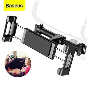 Baseus Back Seat Mount Tablet Stand Car Holder For iPad Air Mini Pro Backseat Car Phone Holder Stand For iPhone Xs Max Samsung