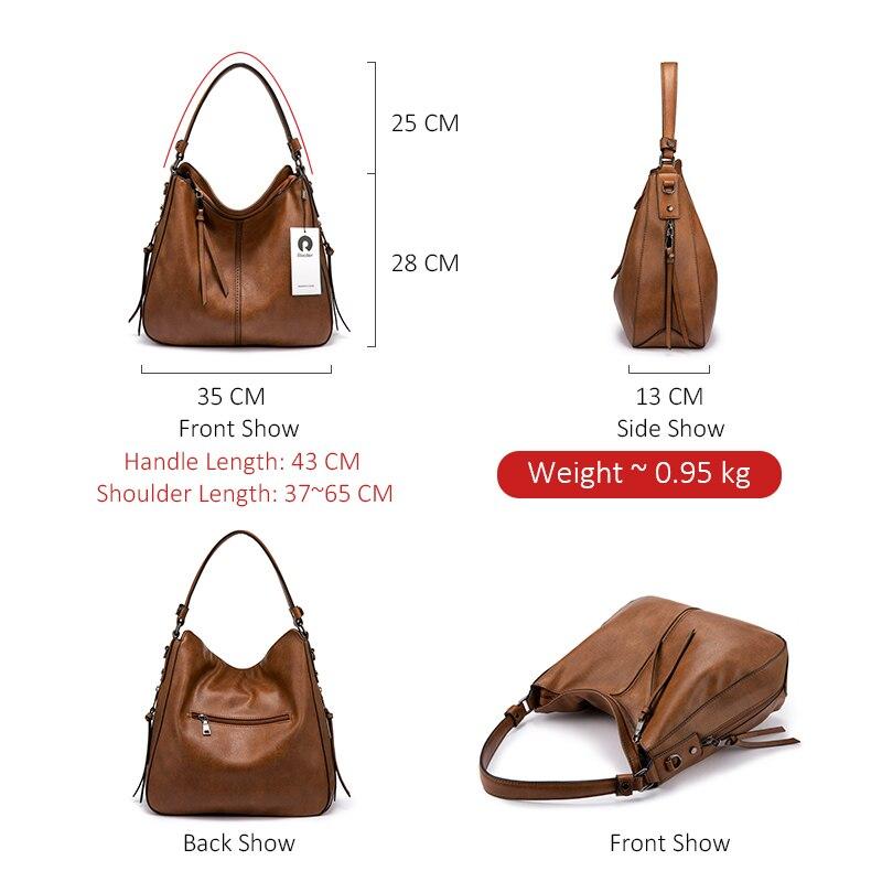 REALER handbags women shoulder crossbody bag female casual large totes
